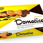 Domacica Keks Tea Biscuit with chocolate Original Kras