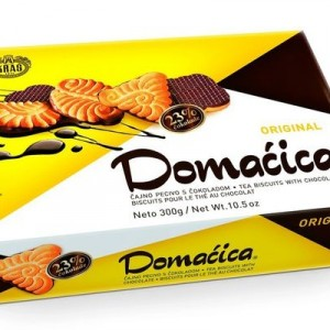 Domacica Keks Tea Biscuit with chocolate Original Kras